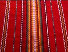 Традиционна българска битова покривка 140 см х 230 см