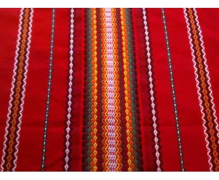 Традиционна българска битова покривка 40 см х 40 см