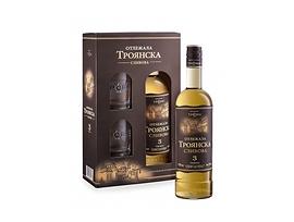 Отлежала Троянска сливова ракия 3год две чаши 700 мл