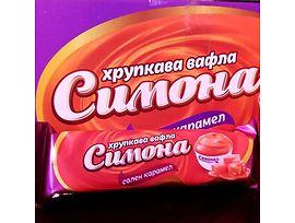 Вафла Симона оранжева 50 г