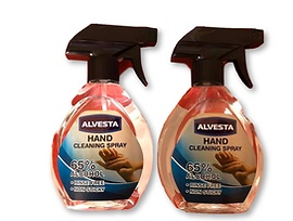 Антибактериален спрей за почистване на ръце 65 ALVESTA 400 мл