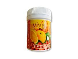 Витамин Ц на прах с мерителна лъжичка 40 г