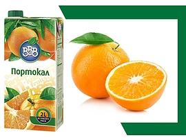 БББ плодова напитка портокал 10 2000 л