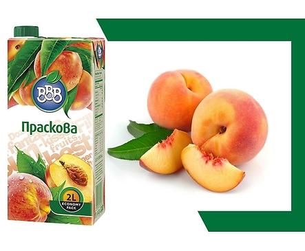 БББ плодова напитка праскова 12 2000 л