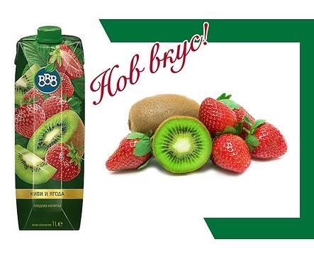 БББ плодова напитка киви и ягода 15 1000 мл