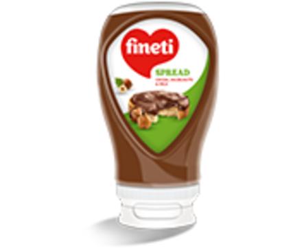 Финети Крем с какао лешници и мляко 380 г
