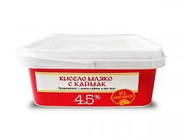 Маджаров кисело мляко с каймак 45 10 кг