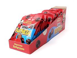 Шоко топчета Златна добруджа тъмен шоколад 30 г кутия 25 бр