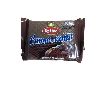 Вафли Синьо лято какао и какао 200 g