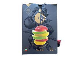 Семеле студено пресован сок Ябълка 100 натурален продукт 3000 л