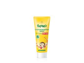 Бочко слънцезащитен крем с пантенол и витамини SPF50 80 г