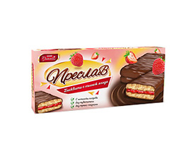 Бисквити Преслав ягода и шоколад 215 г