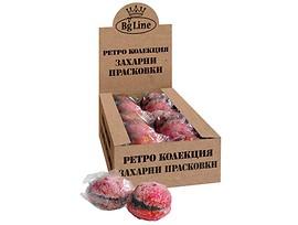 БГ Лайн Ретро захарни прасковки 100 г кутия 10 бр