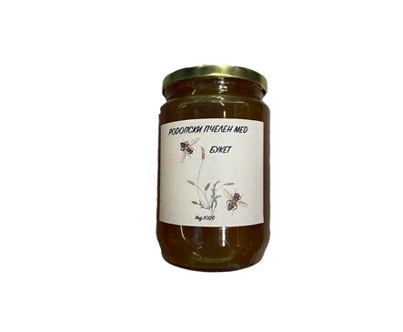 Родопски пчелен мед Букет 900 г