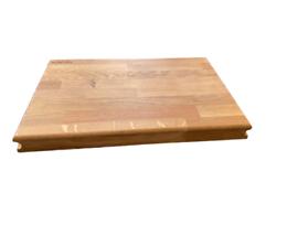 Масивна дървена дъска за рязане и сервиране 4х45х30 см