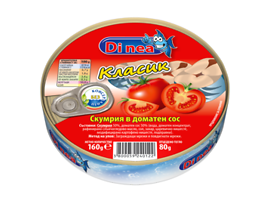 Диавена Di nea скумрия доматен сос 160 г