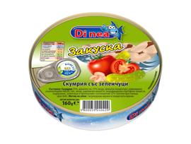 Диавена Di nea скумрия закуска 160 г