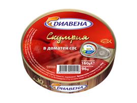 Диавена Скумрия в доматен сос 160 г