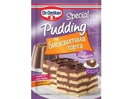 ДрЙоткер Специален пудинг за бисквитена торта шоколад 60 г