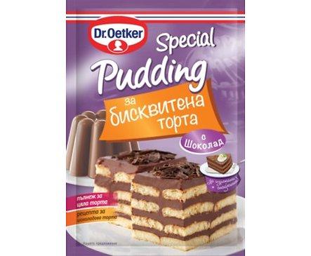 ДрЙоткер Специален пудинг за бисквитена торта шоколад 90 г