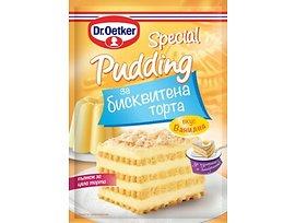 ДрЙоткер Специален пудинг за бисквитена торта ванилия 70 г