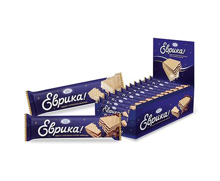 Вафла Еврика с белгийски шоколад 30 г
