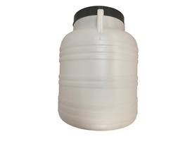Пластмасов бидон 30л подходящ за кисело зеле и туршии