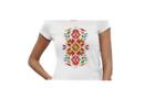 Дамска тениска с щампа българска шевица 265 Размер S