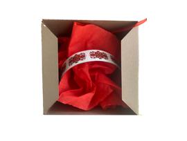Гривна с мотив Българска шевица тънка в подаръчна кутия