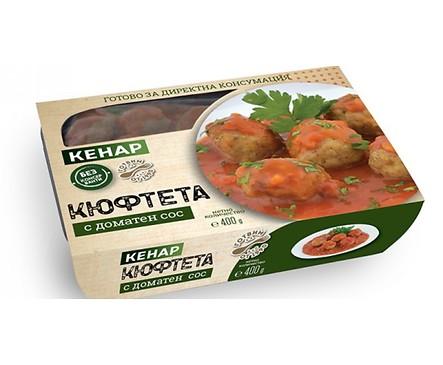 Кенар Кюфтета с доматен сос 400 г