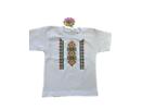 Детска тениска с щампа българска шевица Размер за 98см