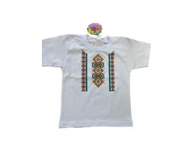 Детска тениска с щампа българска шевица Размер за 116см