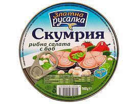 Компас Скумрия рибна салата Русалка 160 г
