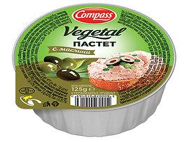 Компас зеленчуков пастет с маслини 125 г