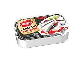 Компас сардини в доматен сос 125 г