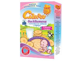 Слънчо Бисквитена каша с млечнокисела закваска 11 витамина 6 200 г
