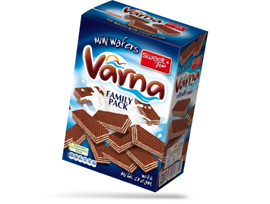 Sweet Вафла Варна мини мляко и какао 280 г