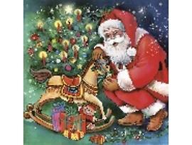 Салфетки с Дядо Коледа подходящи и за декупаж