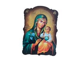 Магнит икона Богородица 8х5 см
