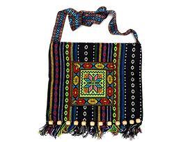 Чанта от плат в български традиционни мотиви