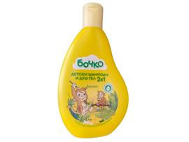Бочко Детски шампоан и душ гел 2в1 Банан 250 мл