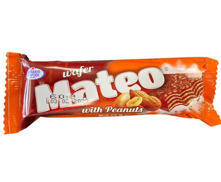 вафла Матео фъстък 60 г