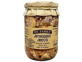 Хорцето агнешко месо сварено в буркан 680 г