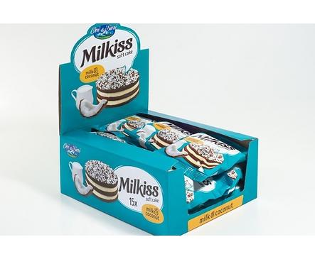 Ови и Сари Кексче Мляко и кокос 50 г кутия 15 бр