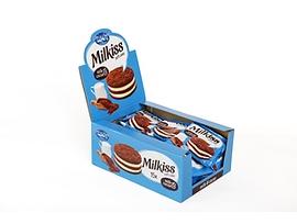 Ови и Сари Милкис кейк мляко и какао 50 г кутия 15 бр
