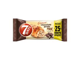 7 Days Кроасан Шоколадови капки 100 г