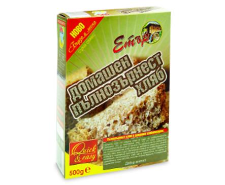 Етър Суха смес за домашен пълнозърнест хляб 500 г