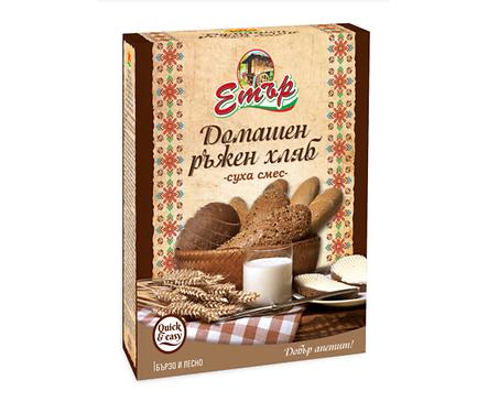 Етър Суха смес за домашен ръжен хляб 500 г