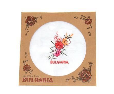 Сувенирна кърпичка в картонена опаковка