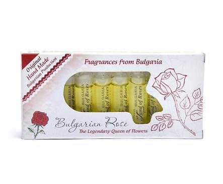 Комплект 10 розови есенции Българска роза